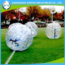 Inflatable ball suit human safety bubble