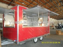 China food trailers Catering Trailer Food Van camper van, kiosk for ice cream food vendor mobile field kitchen/Takeaway Trailer