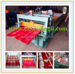 Color Steel Metal Roofing Sheet Roll Forming Machines/Glazed Aluminum Sheet Metal Roofing Rolls Forming Machine