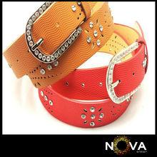High quality womens crystal belts expert belt diamond style