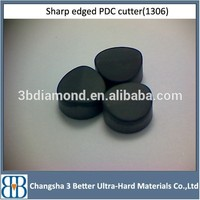 Hot selling 13mm, 16mm , 19mm spherical diamond pdc cutters,19mm pdc cutter tungsten carbide pdc