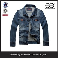 Latest Hot Sale Jean Jacket For Men, Custom Biker Denim Jacket, Man Light Blue Denim Jacket