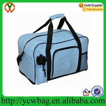 New Design Polyester Custom Travel canvas duffle bag