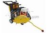 QG180FX concrete saw with blade gas powered