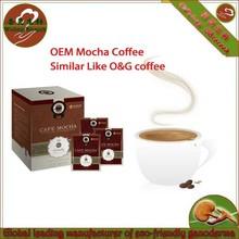 Ganoderma cafe Mocha instant coffee
