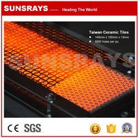 Infrared Burner Honeycomb Ceramic Tiles for industrial burner and heaters