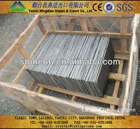 floor roof and wall slate calibrated black slate tiles