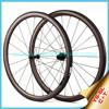 2015 YISHUNBIKE carbon road bike wheel 700c 38mm tubular chinese bicycle wheelset carbon titanium 11 speed cycling SL38T(C+T)