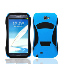 Double pop car shaped cell phone case