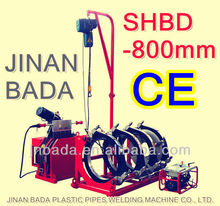 BADA SHBD 800 hydraulic butt fusion welding machine for plastic pipe from 630 to 800mm