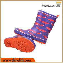 Brand new cheap rubber boots, rubber rain boots for kids, cute rain boots Guarantee of in time delivery