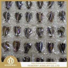2015 Hot Quartz Crystal Angels Sale / Natural Carving Angels Wholesale/natural energy crystals angel figurine