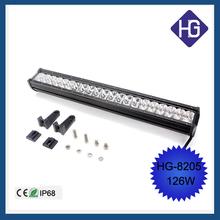 Accessories mazda 23inch IP68 126W suv offroad high lumens industrial light