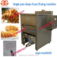 Single tank deep fryer pan|chicken nuggets deep fryer