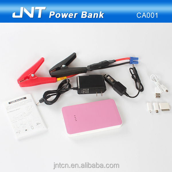 Simple 6000mah Portable Car Jump Start Power Bank Charger For