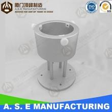 CNC Aluminum Prototype for Laboratory Fixing Seat best price of cnc part