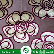 sliver grey color sofa fabric types/decorator fabric/curtain fabric