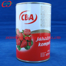 Canned Strawberry canned food 3100ml 3000g, 850ml 820g.
