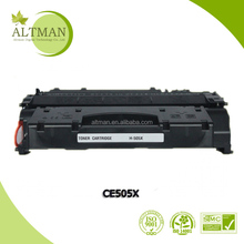Quality 505x full toner cartridge,refill laser toner cartridge box