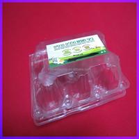 Custom printed PET egg cartons