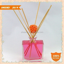 Home air freshener and decoration wholesale aroma reed diffuser/Glass Reed Diffuser/aromatherapy reed diffuser