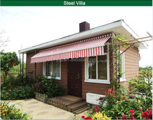 strong quality small steel construction building prefab house prefabricated house
