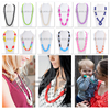 BPA Free Silicone Teether Beads Necklaces Wholesale For Mum To Wear