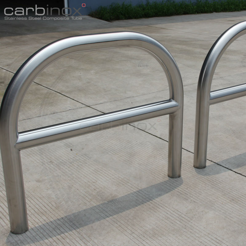 Stainless steel u shape pipe guard perimeter protection