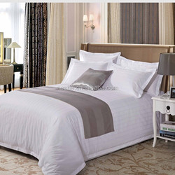 Hotel Linen Bedding Sets - Bed Sheet / Bed Cover / Pillow/ Hotel Bedding Sets