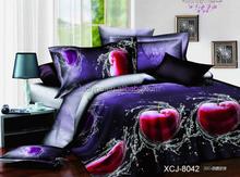 bedding set 4 pcs 3D bed set duvet cover 5D comforter 3D quilt set