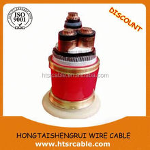 XLPE electric cable electrical cable wire types of electrical underground cables made in China