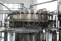 PLC control automatic juice packing line