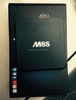 Hot Sell !!! Best M8S M8 Quad Core H.265 4K2K Amlogic S812 Android 4.4 Kodi 15.2 15 Android Tv Box M8S Than M8 Mxiii Mx Mxq