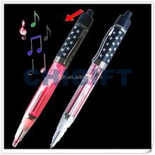 China Novelties LED Light Pen with Music