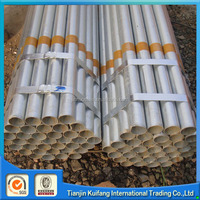 Low carbon galvanized steel pipe/gi pipe seamless pipe sizes mm inch