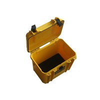 High quality hard plastic waterproof box/carry 12v battery case