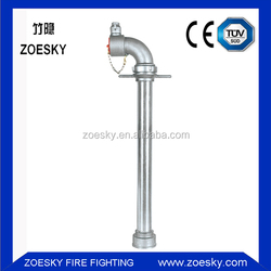 Single Outlet StandPipe For Water System Fire Hydrant
