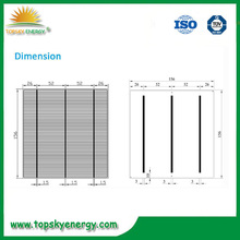 High Quality Thin Film Solar Cell with Low Price