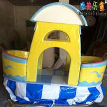 Electric rocking toys Baby A section boat