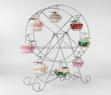 8 cups cake Ferris wheel carrier cupcake stand