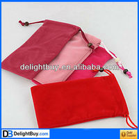 Mo Fan Soft Pouch Pocket Bag Case for Cell Phone MP3 MP4 iPhone 4G