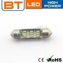 Wholesale LED Festoon Lamps,3014 9SMD CANBUS 39MM LED Festoon Lighting
