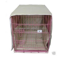"""36"""" Khaki Casual Pet Bed Crate Cover Bumper Crate wear"""