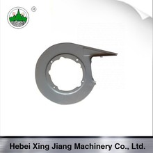 Air cooled parts wind deflector for F165 diesel engine
