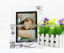 Vintage Glass Picture Frame For Home Table Decoration