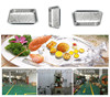 disposable aluminum foil rectangular take away food container