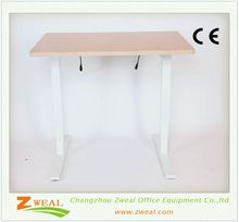 metal legs desks height adjustable desk frame high quality automatic steel and wood computer