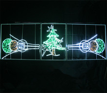 Wholesale website selling Christmas street decorations top ten pole motif light 2014 popular product