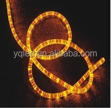 Latest Design Yellow LED Rope Light for Festival Decoration