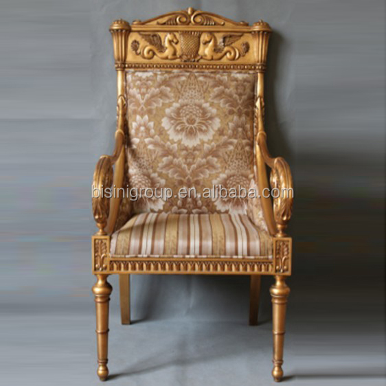 luxury spanish style imperial wood arm chair antique gold plated chair bf11 0609b view vintage. Black Bedroom Furniture Sets. Home Design Ideas